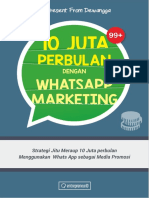 10 Jt Perbulan Dangan Whatsapp