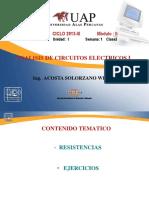 Curso electricidad 1 UAP