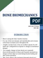 Bone Biomechanics