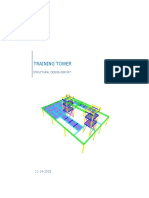 Training Tower Structural Design