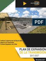 Plan de expancion de la transmision