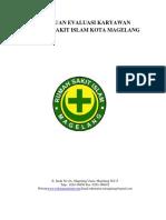 Panduan Evaluasi Kinerja Perawat