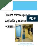 HAF0507033 Criterios Para Ventilación Extracción Localizada Presentación