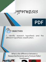 Hypothesis Cot