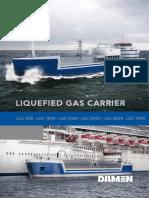 LNG Vessel Specs