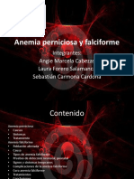 Anemia Perniciosa y Falciforme