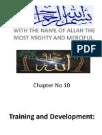 Chap 10 Traing and Development