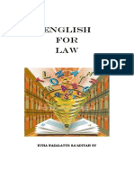 Eng For law 1