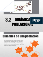 3.2 Dinamica Poblacional