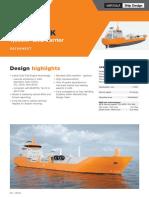 wartsilla 7.5cbm LNG vessel specs
