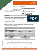 TDS en Product Data Sheet MIT-S MIT-Sr