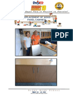 6 Replacement of Wood Panel Cabinets