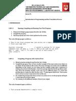 01 Lab Manual COMRO1 - Programming Basics (1)