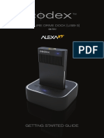 Codex Capture Drive Dock (USB-3) ARRI XT Getting Started Guide 14.11.13