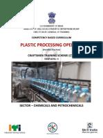 Plastic processing operator