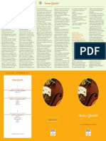 Programa Anima Quartet 25-10-10 Santander