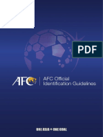 AFC official guidelines