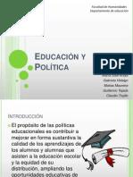Educación y Poltica 2003
