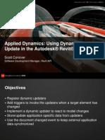 Cp327 1 Applied Dynamics Using Dynamic Model Update in the Revit API