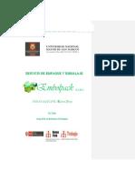 Plan de Negocio - Empaques - Richard Ordaya