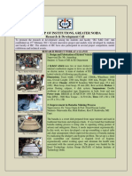 Report of Research Work at IEC