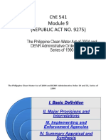 Module 9_ Clean Water Act of 2004