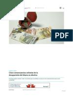 5 Consecuencias Nefastas de La Desaparición Del Dinero