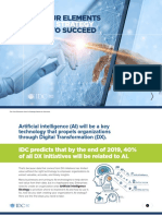 IDC the Four Elements Your AI Strategy Needs to Succeed