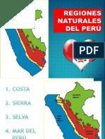 Geografia regiones naturales del Perú