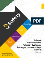 Brochure Taller de Identificación de Peligros y Evaluación de Riesgos con Metodología Bowtie