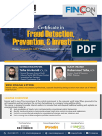 Fraud Detection Prevention Investigation