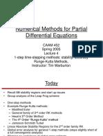 PDE Numerical method