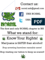 UNH NORML General Flyer