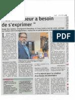 ArticleNR7 Un Chercheur a Besoin de Sexprimer 09-05-2018
