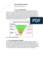 Asset Management Decision-Making