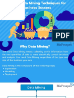 Top 10 Data Mining Techniques for Business Success