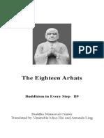 the eighteen arhats
