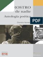 Rostro de nadie - Antología poética de DIONISIO AYMARÁ