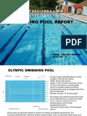 Swimming Pool Report Swimming Pool Swimming Sport