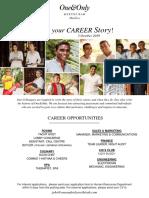 We Create Joy - Career Poster - 3 Oct 2019