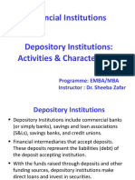 Depository Institutions(Chapter No_4)