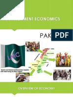 Development Economics Ppt Pak