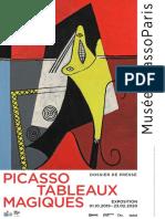 Exposition Picasso - Tableaux Magiques au Musée Picasso, Paris