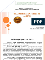 MIHĂILĂ LARISA - Trasabilitatea Mierii de Albine