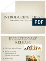 Introduction to PHP 5.3