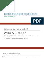 Reflection SelfConfidence