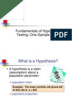 4. Hypothesis Testing