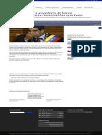 EE UU No Levantará Sanciones de Bonos Hasta Que Maduro Deje El Poder