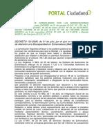 Decreto 151-2006,De 31 de Julio Consolidado