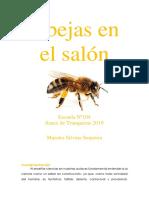 """Proyecto de investigación """"Las abejas en el salón"""""""